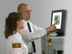Security Screeners Using X-ray System 240x180